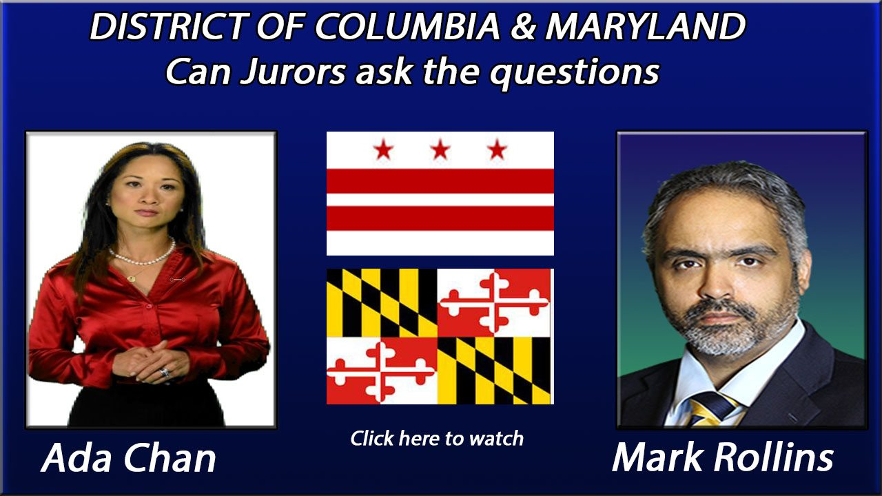 Can Jurors ask questions in DC