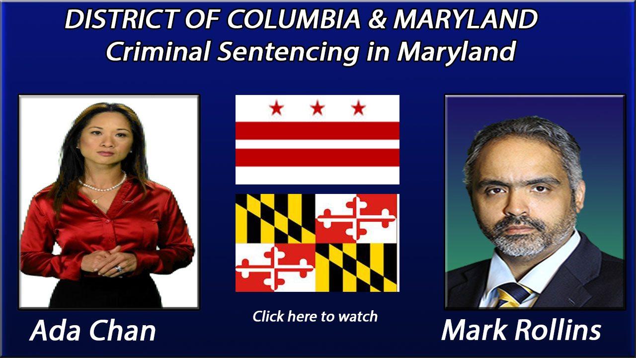 Criminal Sentencing in Maryland