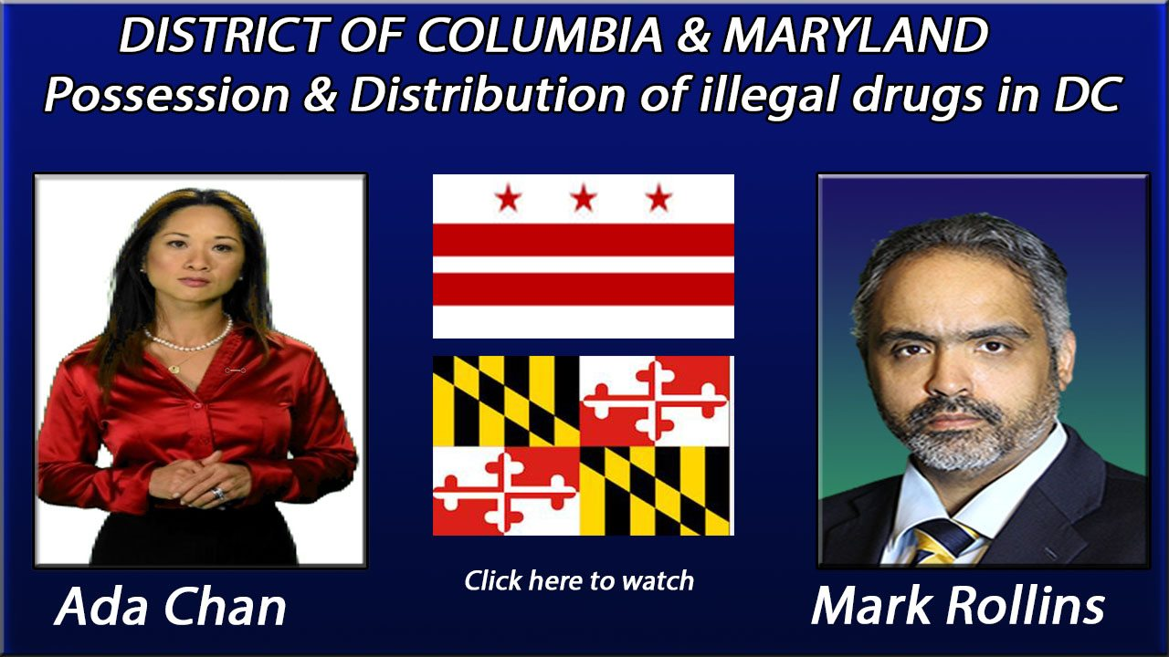 Possession and/or Distribution of drugs in DC
