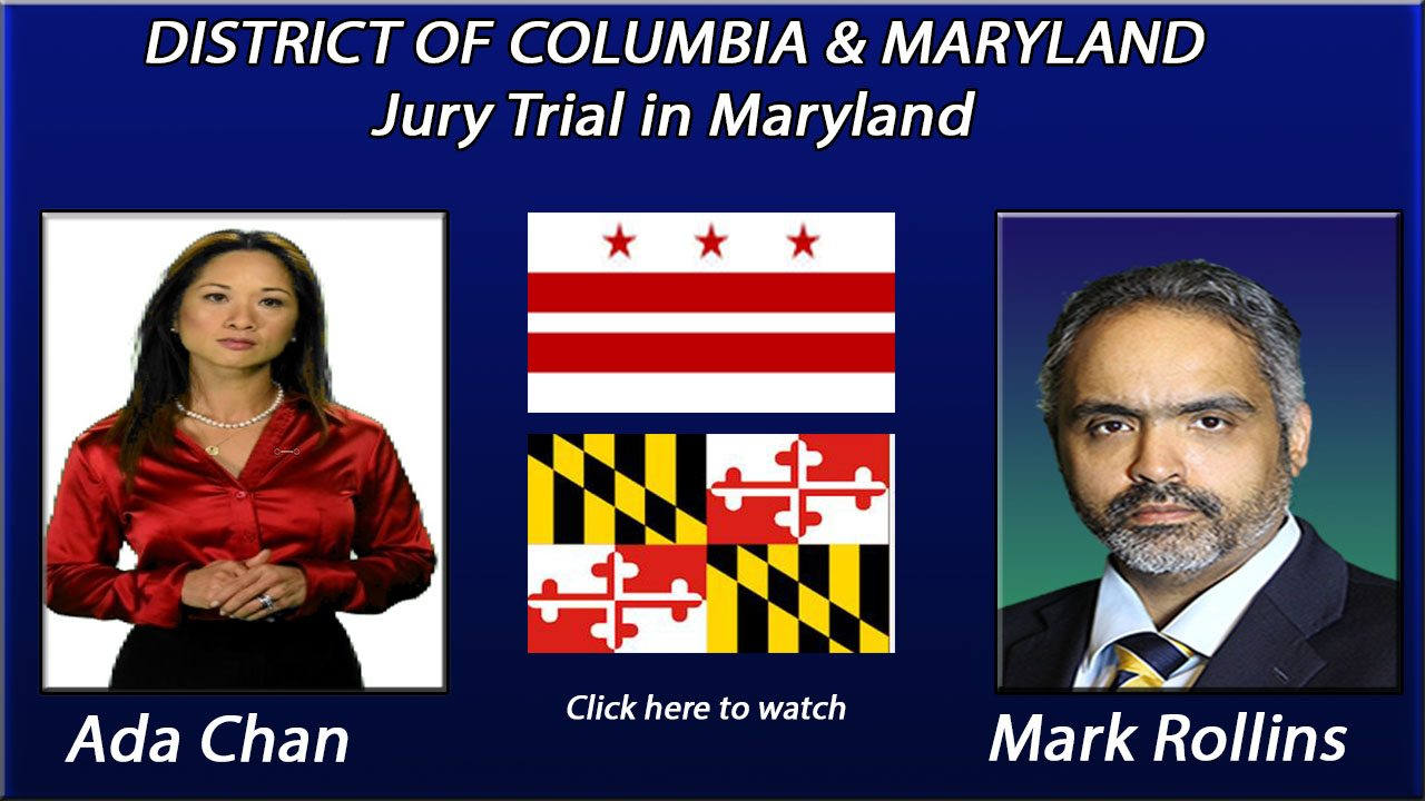 Jury Trial in Maryland
