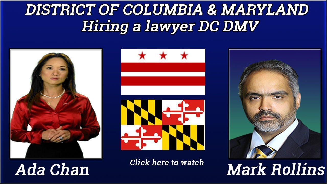 Hiring a lawyer a DC DMV hearing