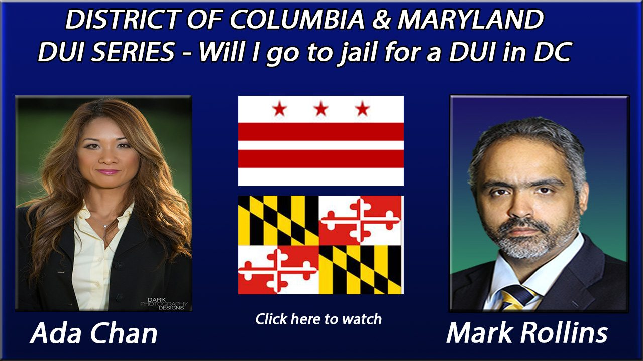 Will I go to Jail for my DC DUI