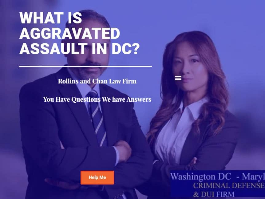 What is aggravated assault in DC