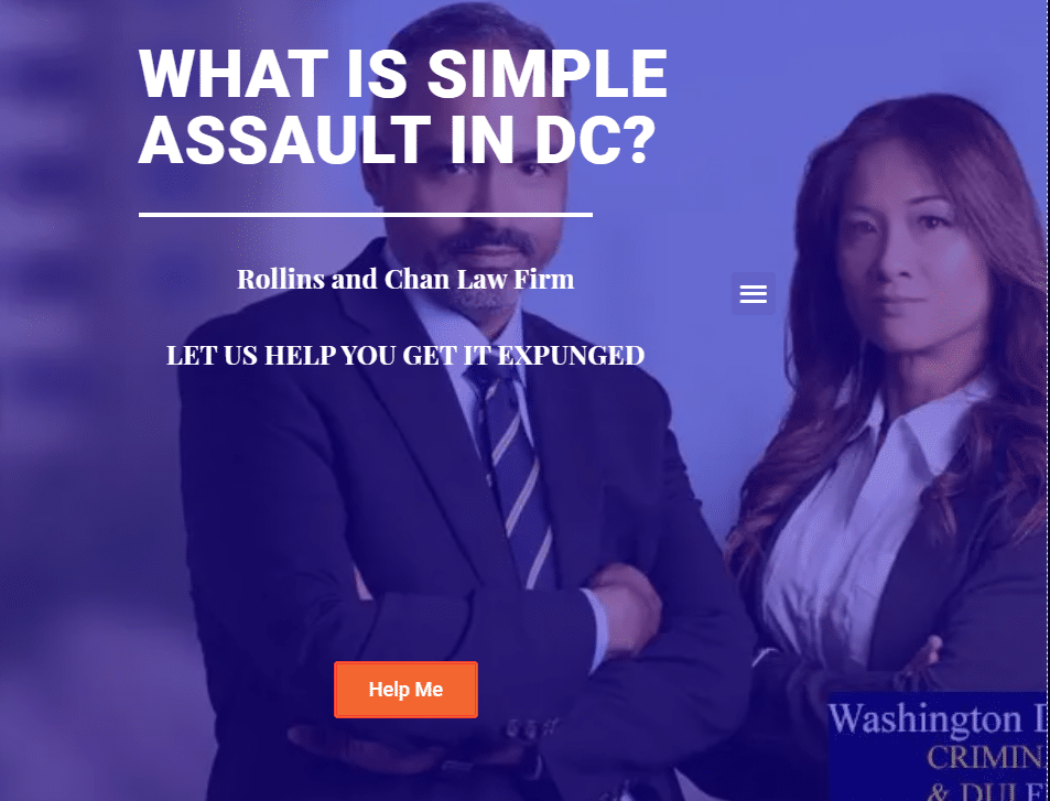 What is Simple Assault in DC