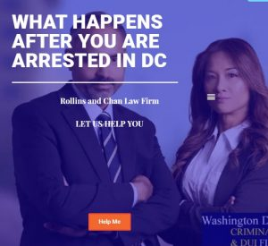 What happens after you are arrested in DC
