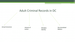 Different Sealing Options for criminal records