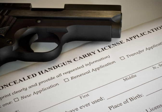 Can I apply for a gun permit in dc with criminal record